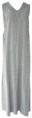 Grey Indian Kaftan Dress