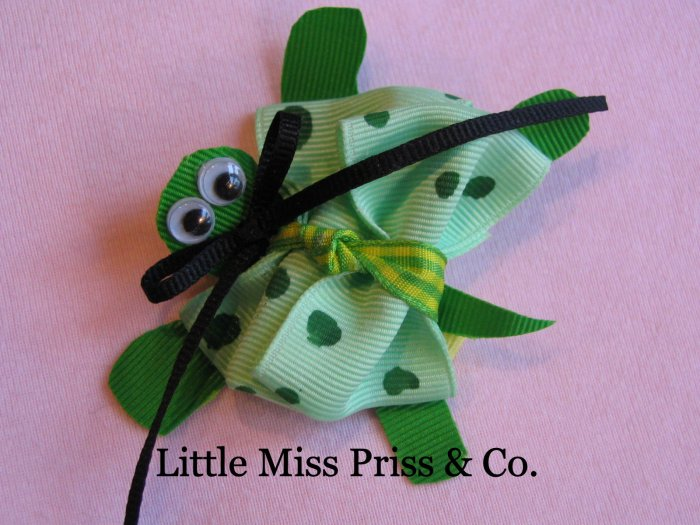 LMP Turtle Character Bow (Hairbow)