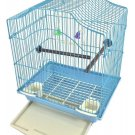 "NEW Blue Bird Cage Kit 14.5"" H x 11.5"" W"
