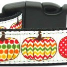 NEW HOLIDAY PUMPKINS Size LG Dog Collar