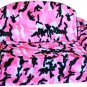 Pink Camo Pull Out Pet Sleeper Dog Bed Couch