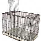PORTABLE PET KENNEL TOP DOOR TRAVEL CAGE 20 x 13 x 15 FOR SMALL PETS