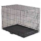 PET KENNEL PORTABLE CAGE EASY FOLD, CARRY & STORE CRATE 24x17x20""