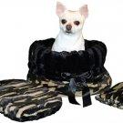SALE Camo Pet Travel Carrier, Bed & Car Seat Reversible