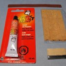 4 Natural Clarinet Tenon Corks with Glue, Extras & Instructions