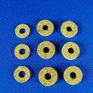 Valve Stem Corks Brass Instrument - Assortment of 9 kork washers