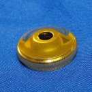 Gold Bach STRADIVARIUS Valve Bottom Cap Genuine Strad Trumpet Cornet Part