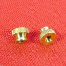 2 Lacquered Trumpet Stop Nuts Conn 51BSP 52BSP Benge 2X, 3X, 4X, 5X, 6X, 6XM, 7X