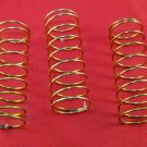 3 Genuine Yamaha Tuba  Sousaphone Valve Springs w/ factory coating models listed