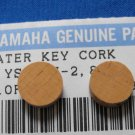 2 Genuine YAMAHA Trombone Water Key Cork Fit others too