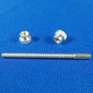 Bach Strad Trumpet Stop Rod Screw and Nuts Silver 3rd slide Genuine Stradivarius