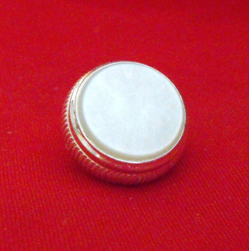 Bach Stradivarius & more SILVER Plated Finger Button - Genuine Strad Part