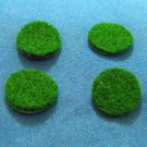 "Genuine Selmer Bundy Buescher Self Adhesive Green Felt Disc 5/8"" 4 piece set"