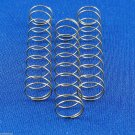 3 Holton ST550 T602 T602S Bb Trumpet  Valve Springs - small type