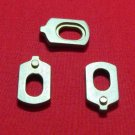 3 Baritone Metal (BRASS) Valve Guides Conn or King