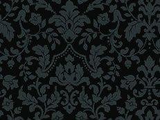Vtg China French Bisque Bleuette Cotton Fabric Print 4 Dolls Green Black
