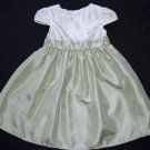 Girls Special Dress 24 months Embroidered WHITE Dressy Wedding Flower Girl Fall