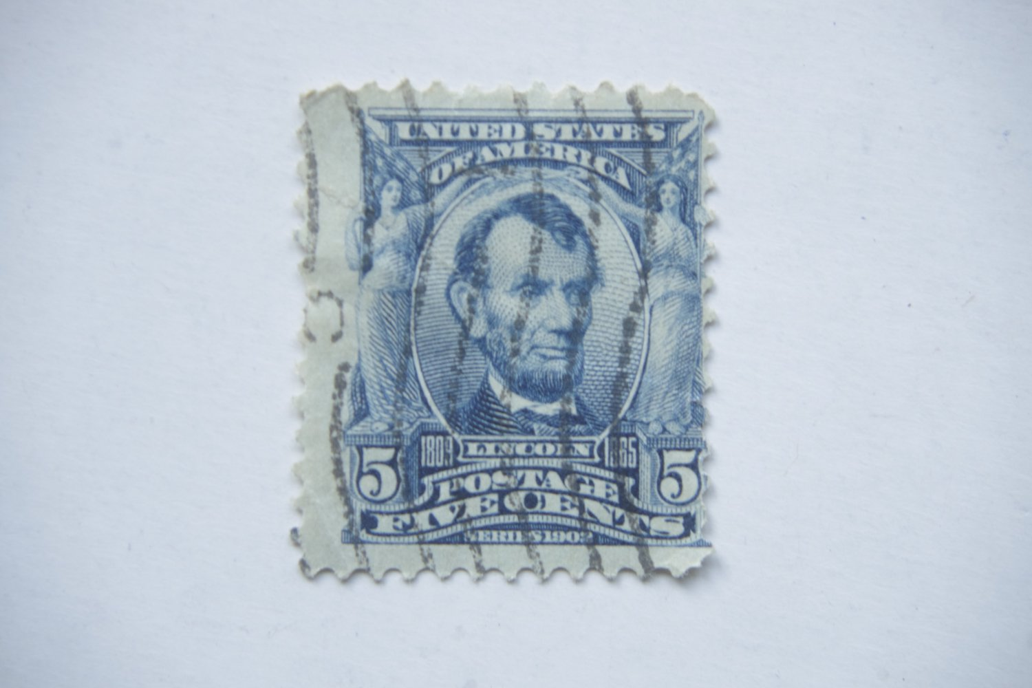 American stamp Abraham Lincoln