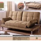 ONE NEW CONTEMPORARY MICROFIBER FUTON SOFA BED, ITEM#CM2509LM-1