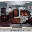 NEW 5pc All Wood Traditional Bedroom Set - ITEM#CM7002