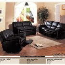 3PCS LEATHER RECLINER MOTION SOFA SET ITEM #CM6507-CA