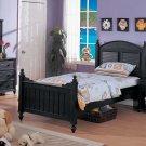 NEW 4pcs All Wood Children Kids Bedroom Set - ITEMF9020
