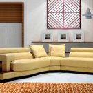 NEW CONTEMPORARY SECTIONAL LEATHER SOFA  ITEM #3331