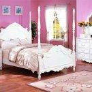 New 4pc All Wood Full Size Kid Teen Bedroom Set, F9078F