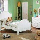 New 4pc All Wood Kids Teen Twin Size Bedroom Set, F9028