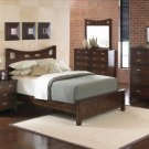 NEW 5pc Queen All Wood Contemporary Bedroom Set C-B1700