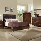 NEW 5pc Queen All Wood Contemporary Bedroom Set C-B9600