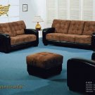 4PCS  NEW CONTEMPORARY MICROFIBER SOFA  SET, AC-829