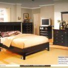 NEW 5pc Queen All Wood Contemporary Bedroom Set CM7720L