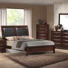 NEW 5pc Queen All Wood Contemporary Bedroom Set C-B4200