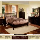 NEW 5pc Queen All Wood Contemporary Bedroom Set #CM7822