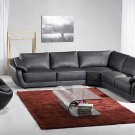 NEW CONTEMPORARY SECTIONAL LEATHER SOFA  ITEM #3333