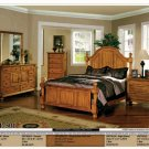 NEW 5pc Queen All Wood Traditional Bedroom Set #CM7501