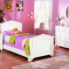 New 4pc All Wood Full Size Kid Teen Bedroom Set, F9080F