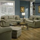 MADE IN USA SIMMONS 2PC NEW FABRIC SOFA SET, ITEM#F7805