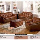 NEW 3PCS CONTEMPORARY LEATHER SOFA SET ITEM #CM6468-CA
