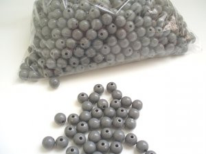 Beads:Dark Gray (5 oz, over 500 units)