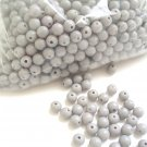 Beads:Light gray (5 oz, over 500 units)