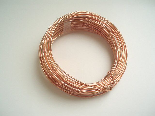 Strenghtened Copper Wires