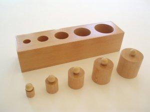 Knobbed Cylinder Block --1