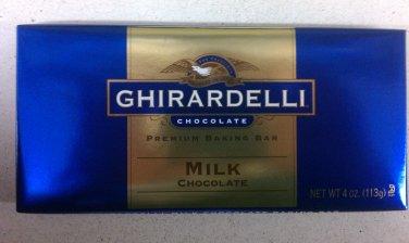 Ghirardelli Milk Chocolate Premium Baking Bar 4 oz (Pack of 10)