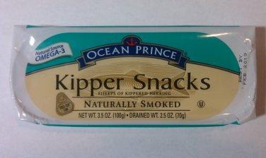 Ocean Prince Kipper Snacks 3.5 oz (Pack of 3)