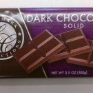 Landmark Confections Dark Chocolate Solid bar 3.5 oz (Pack of 6)