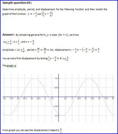Trigonometry Homework Tutoring