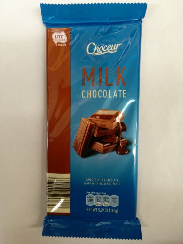 Choceur Milk Chocolate 5.29 OZ (Pack of 6)