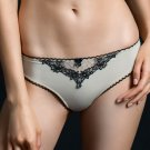 Afternoon delight beige thong, size S